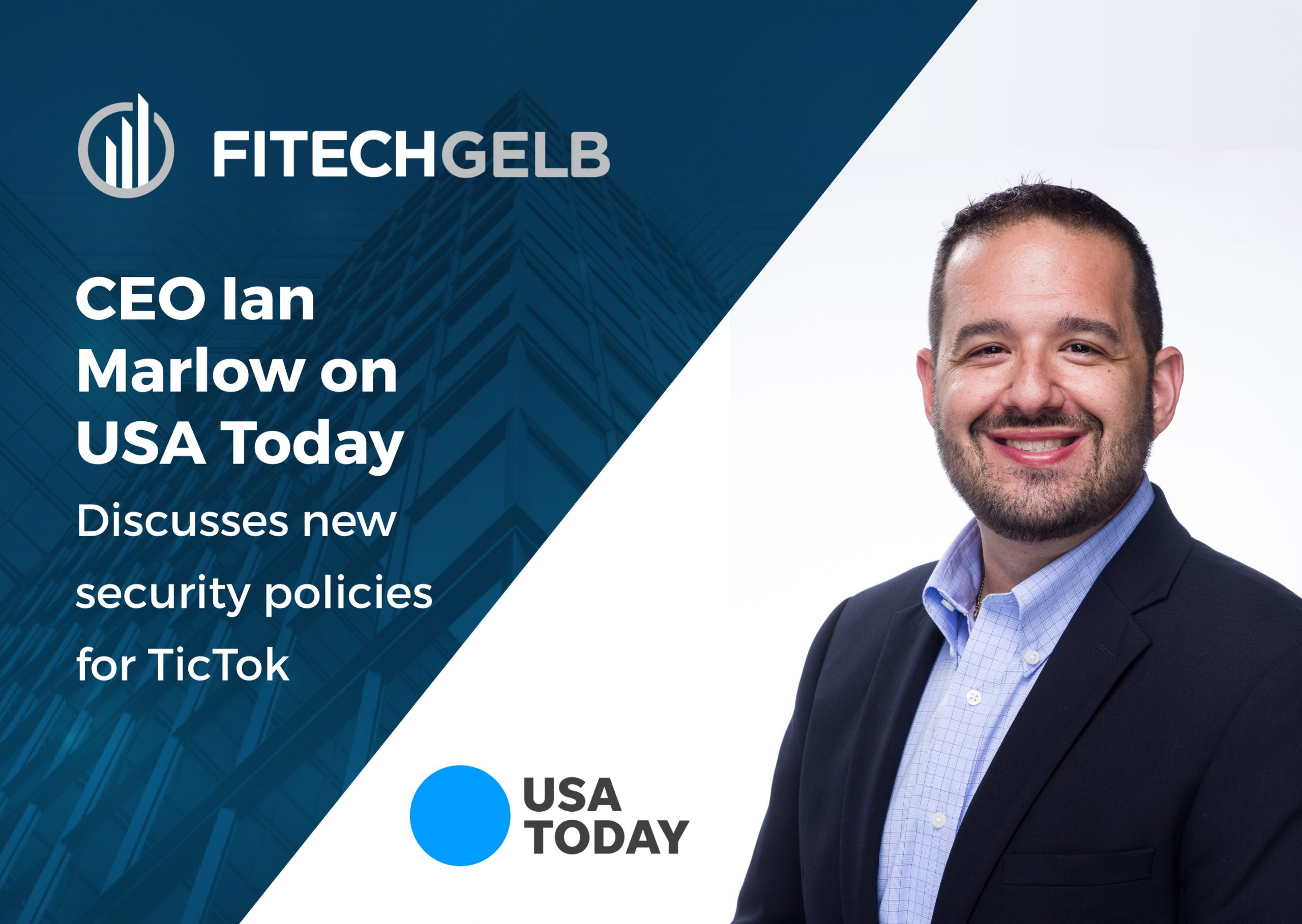 CEO Ian Marlow discusses new security policies for TikTok on USA Today